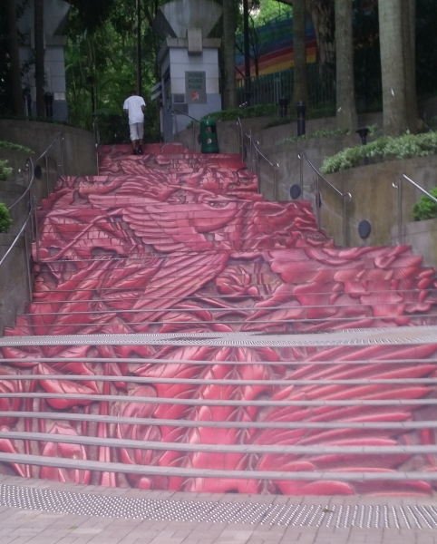 Step Art around town