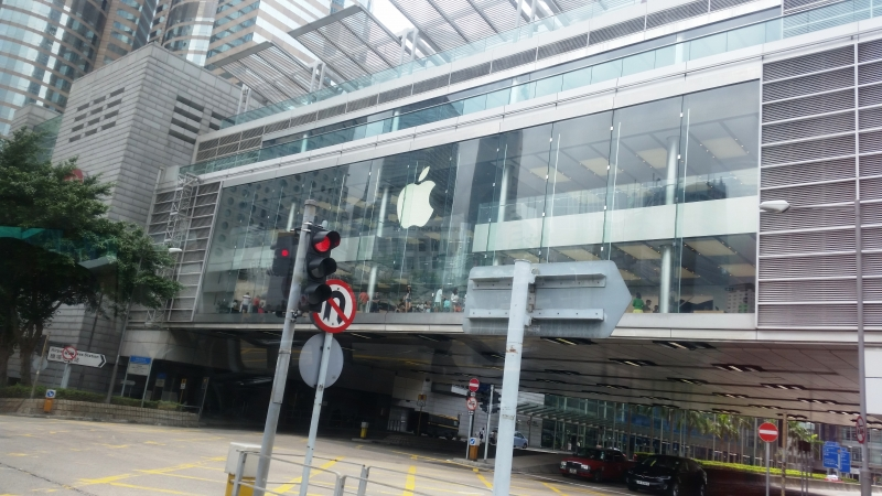 The biggest Apple Store I've ever seen